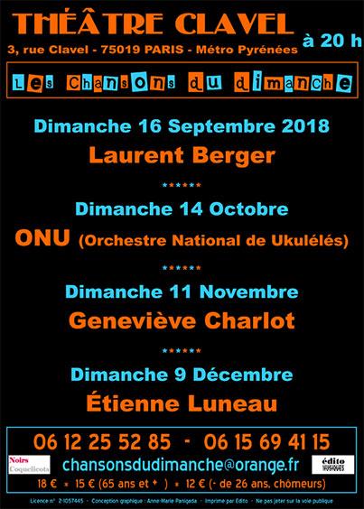Flyer Chanson du Dimanche -fin-2018